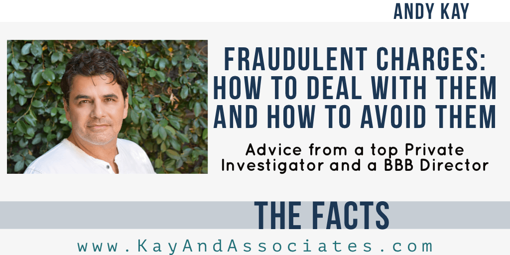 Fraudulent Charges: How To Deal With Them and How To Avoid Them